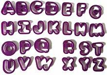 TOYMYTOY Buchstaben Ausstecher Ausstechformen für
