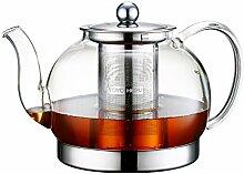 Toyo Hofu klar Glas hitzebeständig Teekanne