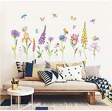 TOYP Blumen und Schmetterlinge DIY Cartoon Haus