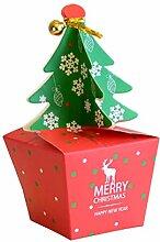 Toyvian Heiligabend Apple Box Geschenkbox Schöne