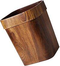 Toyvian Mülleimer Nachahmung Holz Müll Können