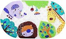 Toyvian Niedlichen Cartoon Tier Badematte Baby