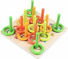 Toyvian Ring Werfen Spiel Erzieherisch Eltern Kind