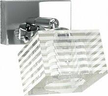 Tp-metropolitan 1047 f1 g9 led quadratisches glas