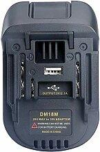 TPDL DM18M Adapter 18V 20V Milwaukee & Dewa.lt