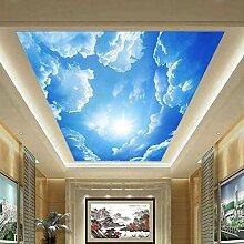 TPFEI Größe Blauer Himmel Weiße Wolken