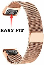 TPulling Garmin Fenix 5S Armband Magnetischer