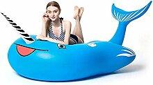 TQBA Luftmatratze Wasser Pool Spielzeug Badeinsel
