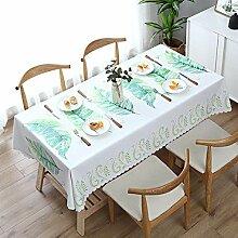 Traann Wachstuch Tischdecke, quadratische