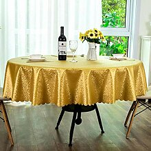 Traann Wachstuch Tischdecke, runde Tischdecke für