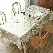 Traann Wachstuch Tischdecke, Tischdecke für