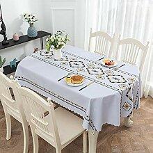 Traann Wischtuch aus Plastik-Tischdecke, ovale