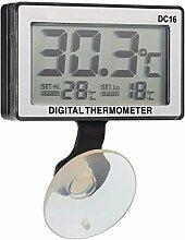 Trade Shop Traesio 8614 Digitales LCD-Thermometer,