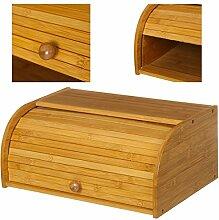 TrAdE shop Traesio Brotkasten aus Holz von Bambu