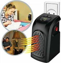 TrAdE shop Traesio Elektrische Raumheizung Notebook Handy Heater mit Niedrigem Energieverbrauch 350W Grad Verstellbar