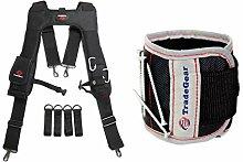 TradeGear Elektriker-Gürtel und Tasche, robust,