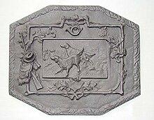 Tradehub Kaminplatte Ofenplatte Metallbild