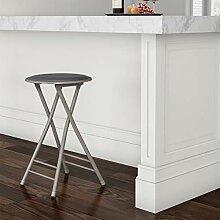 Trademark Home Klapphocker grau