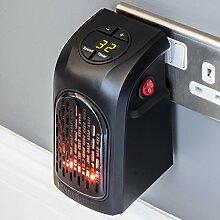 Tradeshoptraesio®elektrische Raumheizung, tragbar, mit niedrigem Energieverbrauch, 350W, Temperatur einstellbar