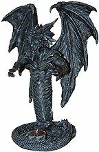 TRADEX Teelichthalter Fantasy Gothic Dekofigur