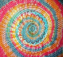 Traditional Jaipur Groß Ombre Mandala