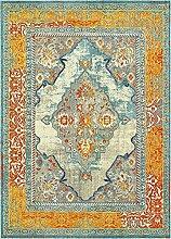 Traditionelle Arte Bereich Teppich, blau, 9 x 12