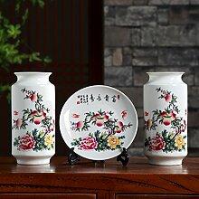 Traditionelle chinesische keramik vase drei