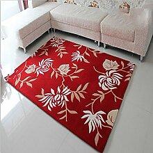 Traditionelle handgefertigte Teppich-Muster großes, modernes Haus Sofa im Wohnzimmer Schlafzimmer Teppich Teppich Zimmer Teppich Reinigung Teppichoberfläche Verdickung Verschlüsselung 120 * 170cm