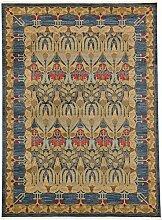 Traditionelle Heritage Bereich Teppich, Polypropylen, marineblau, 8 x 11