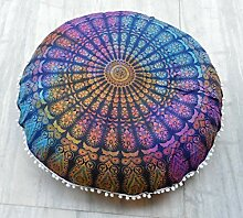 Traditionelle Jaipur Groß Ombre Mandala