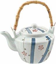 Traditionelle japanische Keramik-Dobin Teekanne