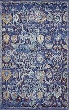 Traditionelle Lexington Bereich Teppich, Polypropylen, violett, 5 x 8