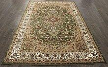 Traditionelle Teppiche aus Polypropylen, CALIFORNITE-GREEN, 230X160 CM 7.5X5.2 FT