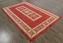 Traditionelle Teppiche Polypropylen, rot, 230X160 CM 7.5X5.2 FT