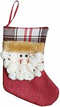 Traditionelle Weihnachten Strümpfe Neue Jahr