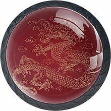 Traditioneller chinesischer Drache 4 Stück