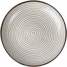 Traditioneller Stil Keramik Geschirr Speiseteller