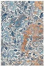 Traditioneller Teppich Mit Blumenmotiven, Retro-
