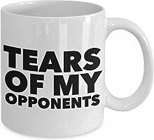 Tränen meiner Gegner Becher Geschenke für