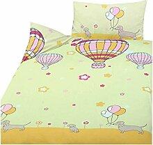 Träume Bettwäsche Luftballons und Tier Motive -