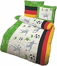 Träumschön Fußball Bettwäsche mit