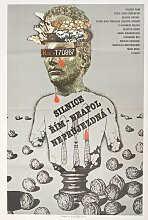 Traffic Jam Filmposter von Karel Teissig, 1981
