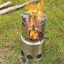 Tragbar Campingkocher, Holzvergaser Klapp