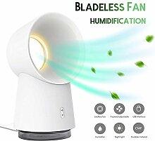 Tragbar Sprühen Bladeless Fan, USB Mini