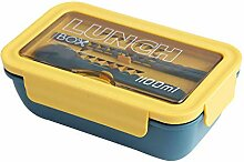 Tragbare 2-lagige gesunde Lunchbox