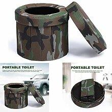 Tragbare Camping-Toilette, Komode faltbar Outdoor