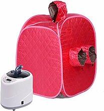 Tragbare Dampfsauna für den vollen Körper, der