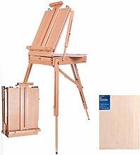 Tragbare Falten Durable Holz Staffelei for Farb