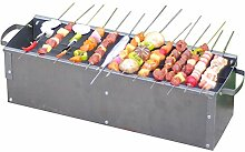 Tragbare Grill Rack Outdoor Klapp Holzkohlegrill