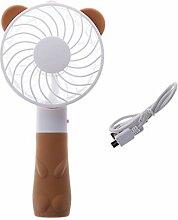 Tragbare Hand-Fan-batteriebetrieben USB-Strom